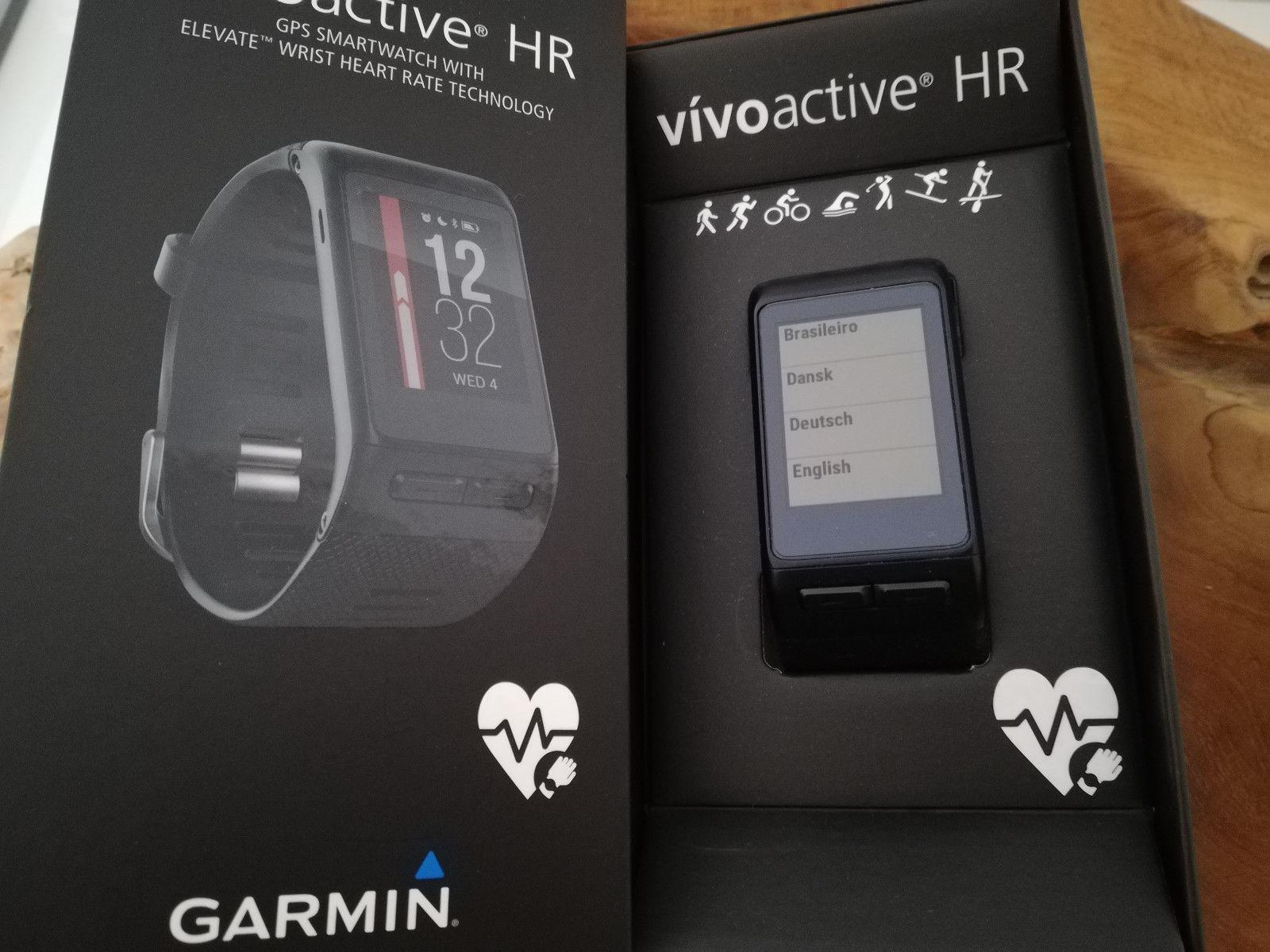 Garmin Vivoactive HR Fitnessuhr GPS Originalverpackt Garantie GARMIN Smartwatch