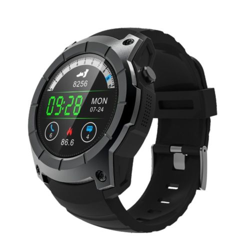 GPS S958 Bluetooth Sportuhr Android Smartwatch SIM Armbanduhr Fitness Tracker DE