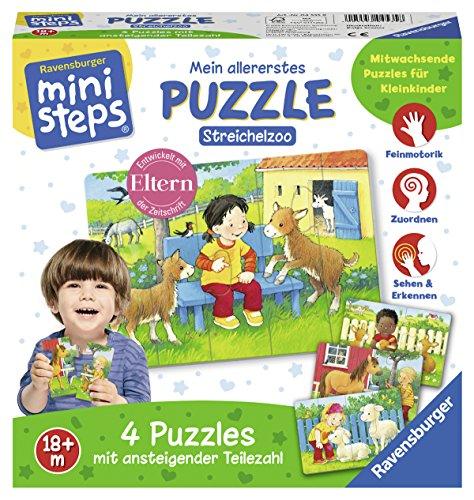 Ravensburger 04535 Mein Allererstes Puzzle: Streichelzoo Ministeps Spiel