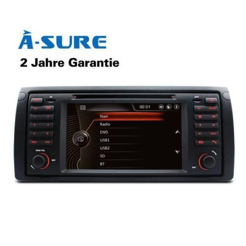 DVD GPS Für BMW X5 E39 E53 E38 5er Navi Autoradio DAB+ BT VMCD