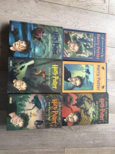 Joanne K. Rowling - Harry Potter Bücher Band 1-7 Hardcover