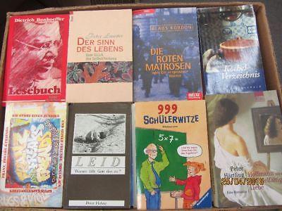 135 Bücher Taschenbücher verschiedene Verlage
