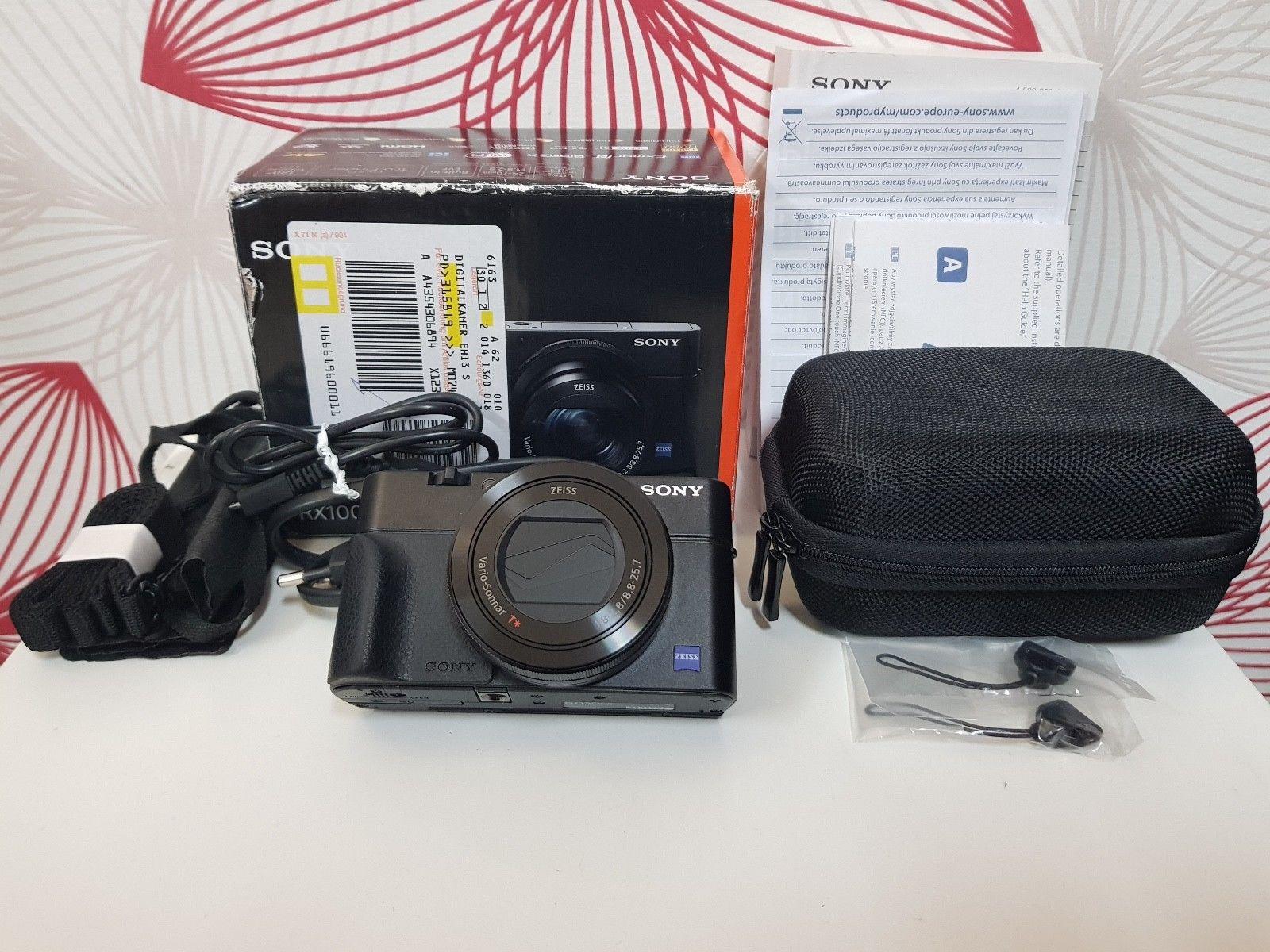 Sony DSC-RX100 III Digitalkamera RX100M3 schwarz black