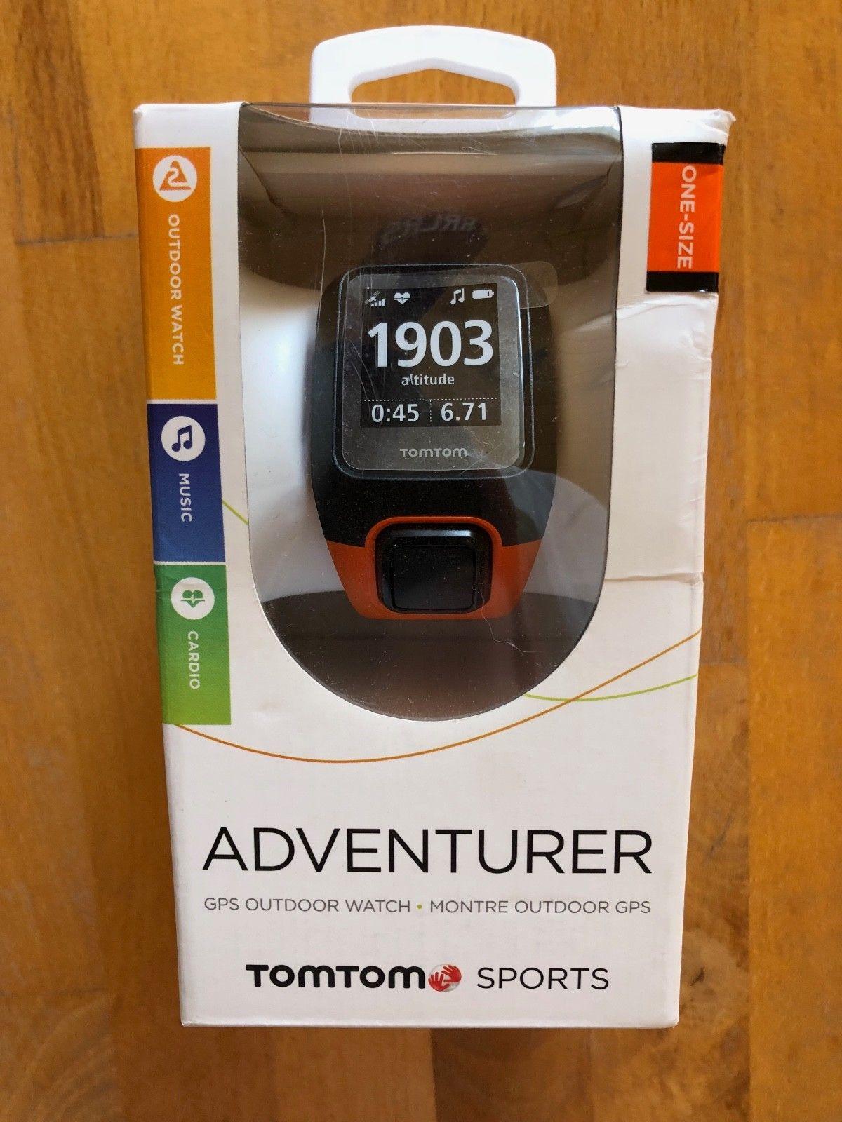 TomTom Adventurer GPS Outdoor Watch Multisport Uhr