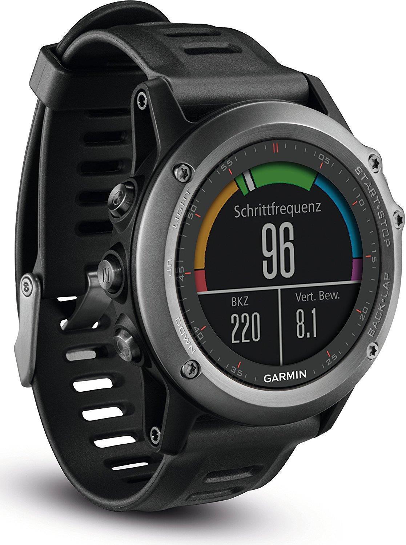 Garmin fenix 3 GPS-Multisportuhr grau #sehrgut