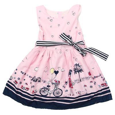 Maedchen Kleid Sommer Neue Maedchen Kleid Kinder Kleidung Kinder Kleid Prin L8J1