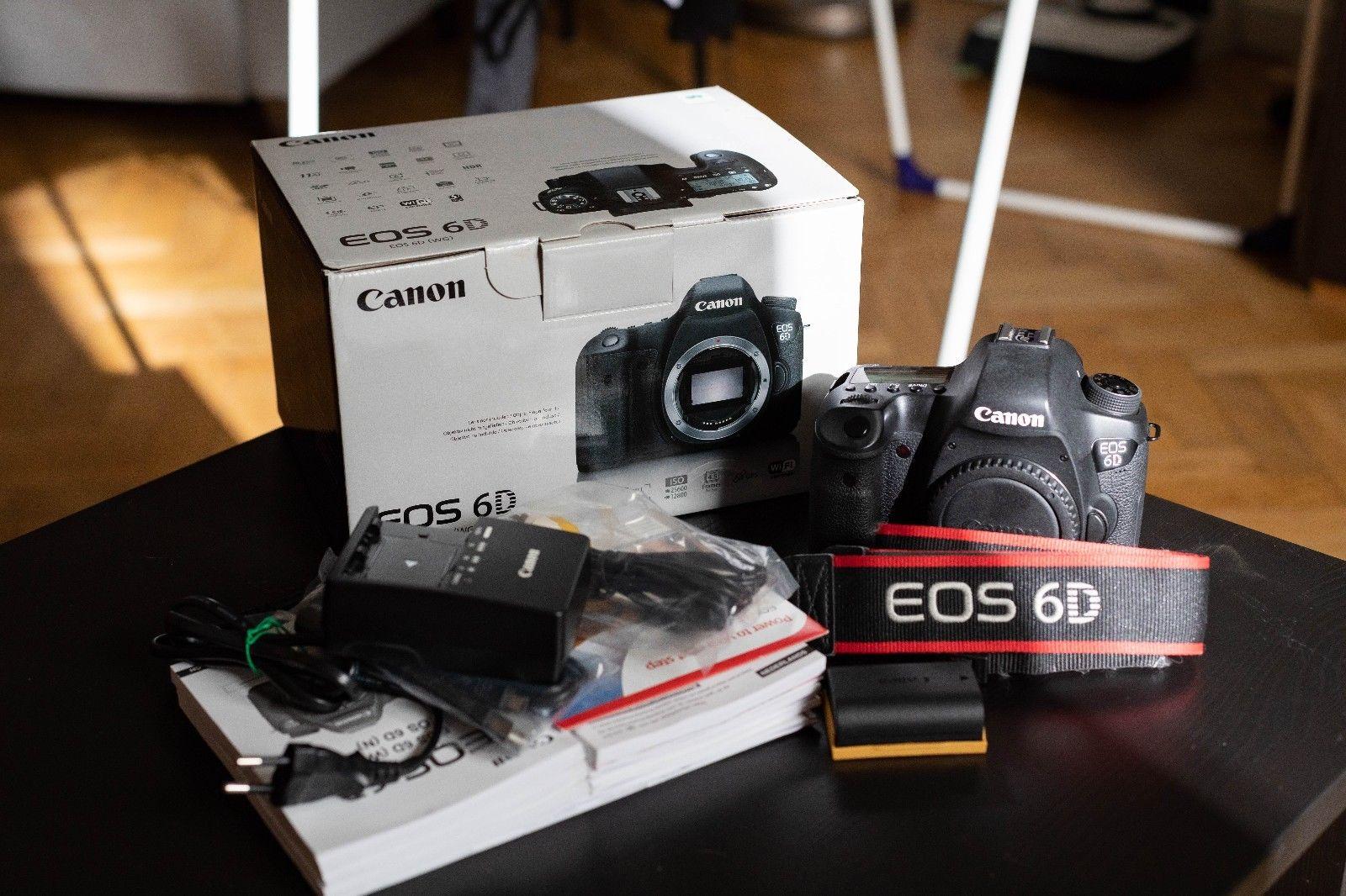 Canon EOS 6D 20,2 MP Full Frame DSLR - Schwarz (Gehäuse) - OVP