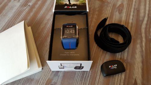 Polar V800 HighEnd GPS Uhr mit Brustgurt