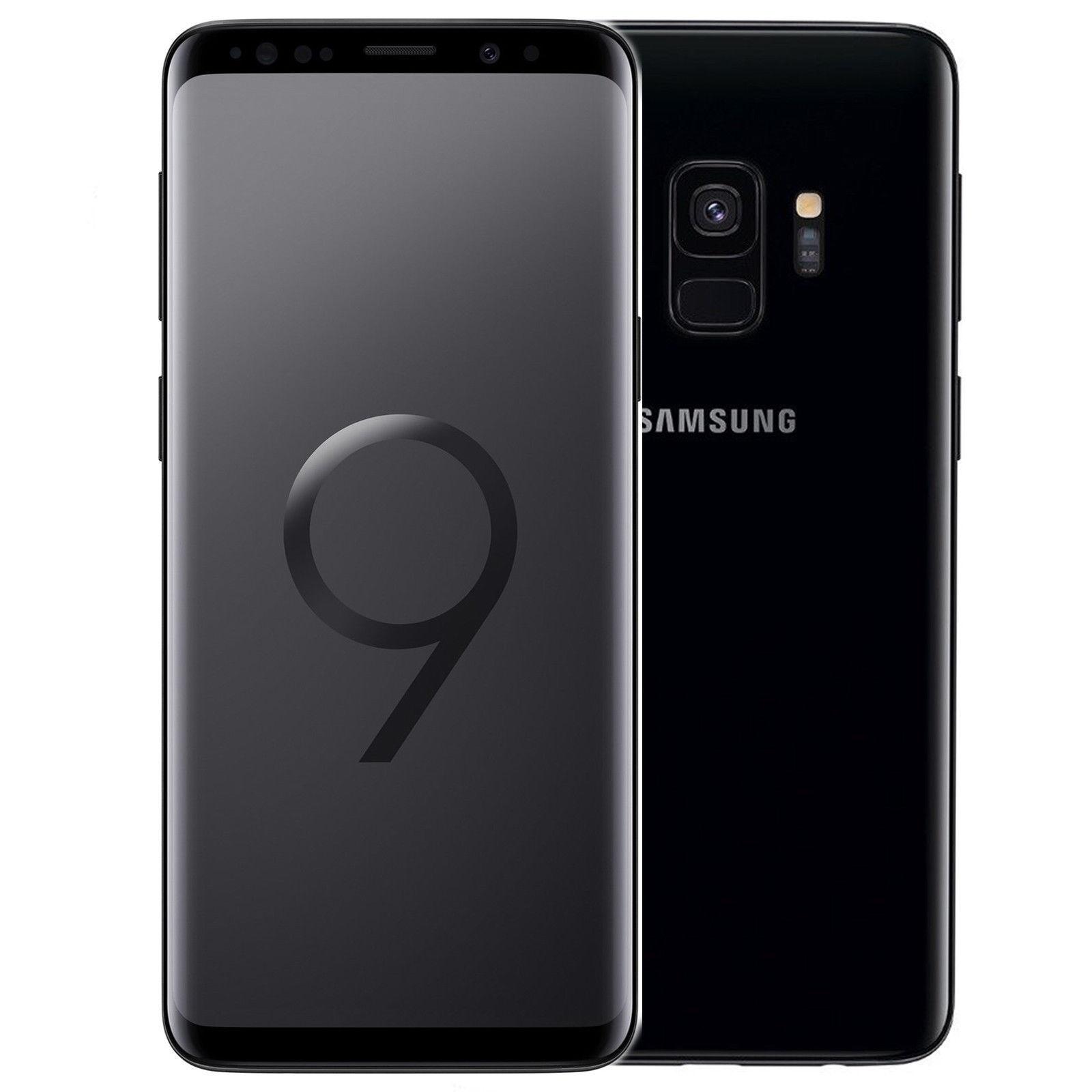Samsung Galaxy S9 SM-G960FDS 64GB - (Ohne Simlock) - Midnight Black Dual-Sim NEU