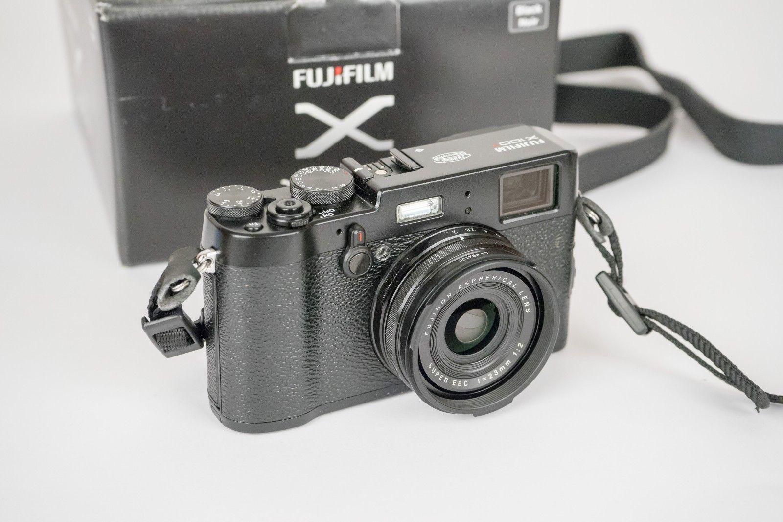 Fujifilm FinePix X Series X100T 16.3MP Digitalkamera - Schwarz (Nur Gehäuse)