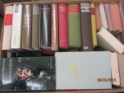39 Bücher Romane internationale Klassiker Beckett Dostojewski u.a.Paket 1