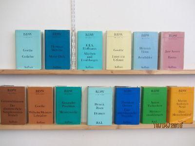 13 Bücher Romane Bibliothek der Weltliteratur Klassiker der Weltliteratur