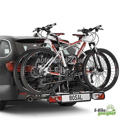 Bosal Tourer Fahrradträger für 2 Fahrräder bzw. E-Bikes für die Anhängerkupplung