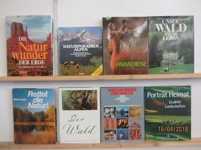 18 Bücher Bildbände Natur Umwelt Umweltschutz Naturparadiese Naturoasen