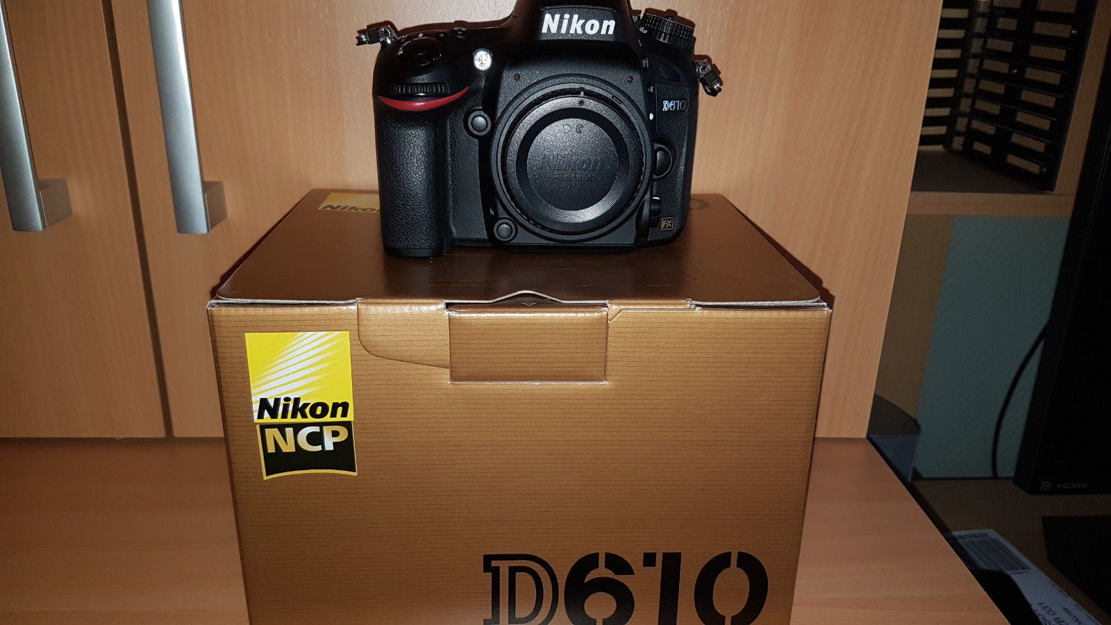 Nikon D D610 24.3 MP SLR-Digitalkamera - Schwarz