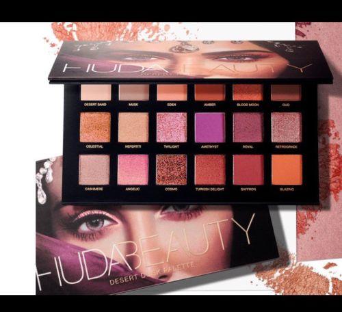 Huda Beauty - Desert Dusk 18 Farben eyeshadow Palette Lidschatten palette NEU