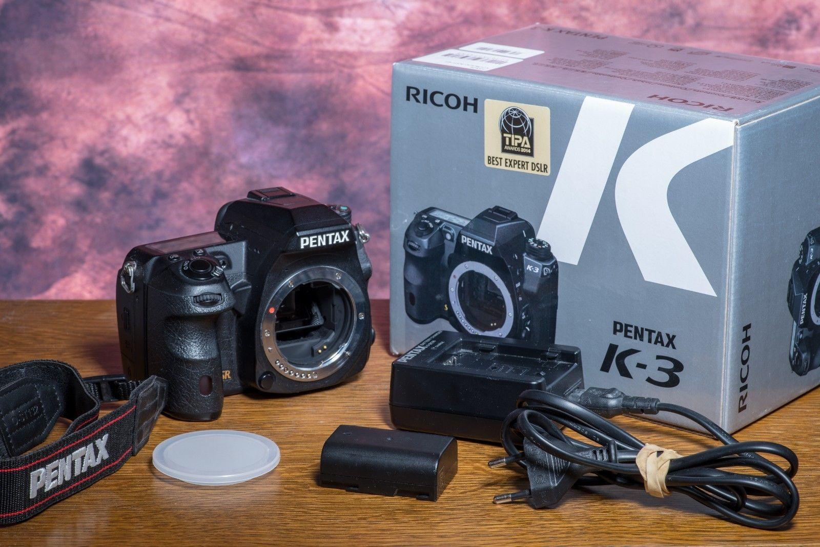Pentax K K-3 23.4 MP SLR-Digitalkamera - Schwarz (Nur Gehäuse)