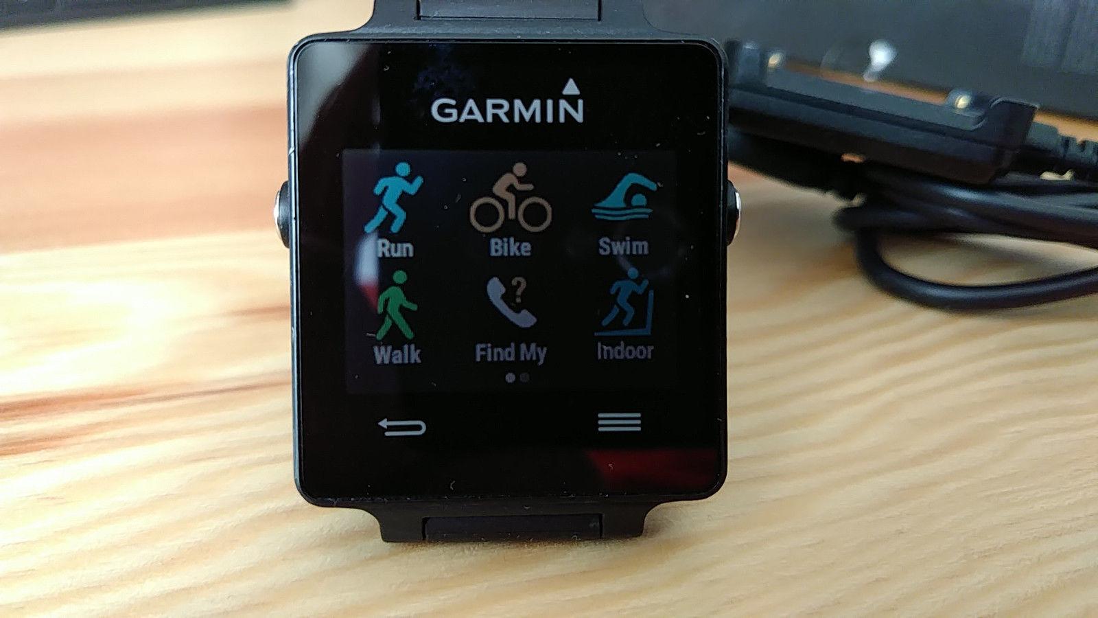 Garmin Vivoactive GPS Smartwatch schwarz mit OVP