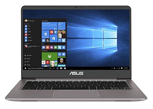 Asus Zenbook UX3410UA-GV133T 35,56 cm (14 Zoll FHD matt) Notebook (Intel Core i5-7200U, 8GB RAM, 512GB SSD, Intel HD Graphics, Win 10) grau