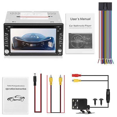 Autoradio Doppel 2 Din Mit GPS Navi Bluetooth TouchScreen DVD CD USB SD MP3 Map