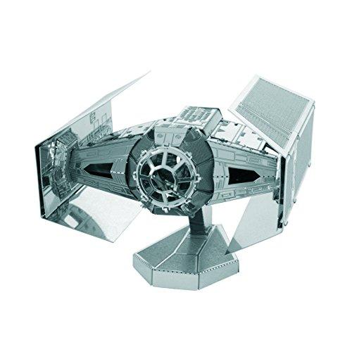 Fascinations Metal Earth MMS253 - 502664, Star Wars, Tie Fighter, Konstruktionsspielzeug, 2 Metallplatinen, ab 14 Jahren