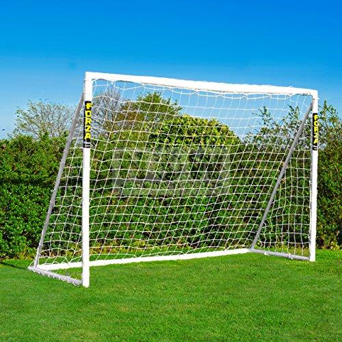 FORZA wetterfestes Fußballtor. Klick-Modelle [Net World Sports] (6 Klicktor 3 x 2m Mit Tasche)