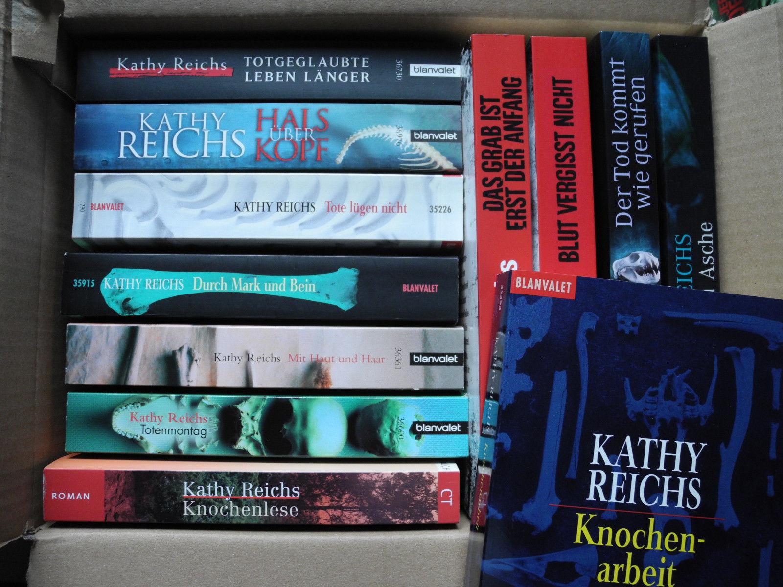 12 Bücher Krimis&Thriller von Kathy Reichs Taschenbücher