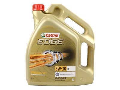 Castrol | Motorenöl 5W-30 Edge Titanium LL (5 L) (15669E)