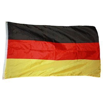 DEUTSCHLAND FAHNE FLAGGE 90 x 150 cm mit 2 Ösen NEU/OVP