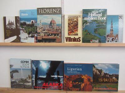 45 Bücher Dokumentationen Länder der Welt  Reiseberichte Historien Chroniken