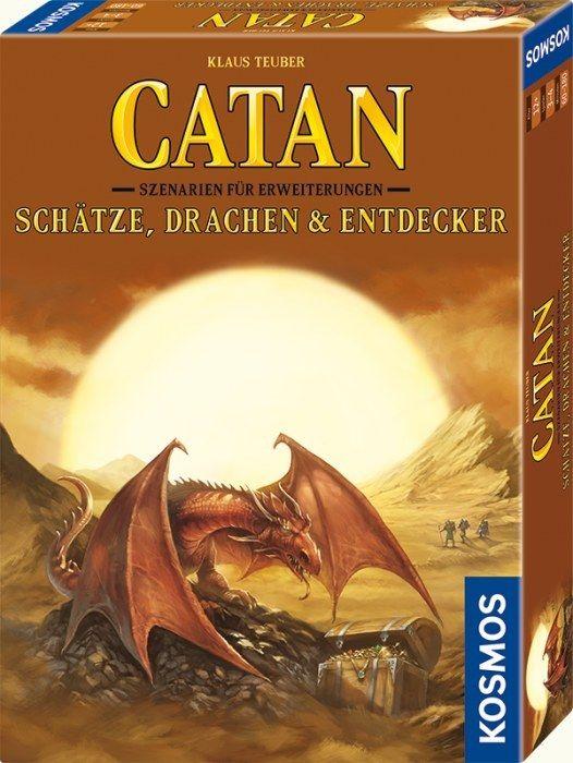 Szenarien Schätze Drachen & Entdecker - Die Siedler von Catan NEU | OVP
