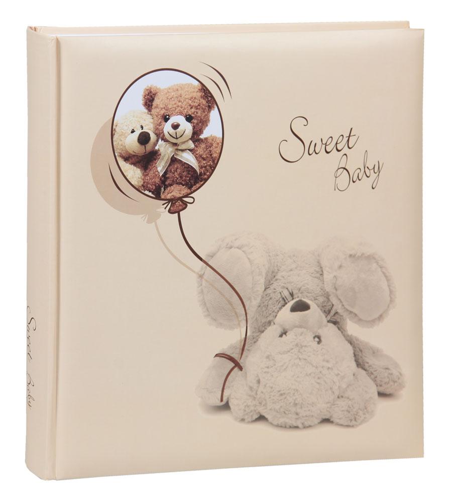 Sweet Baby Bär II Fotoalbum in 30x30 cm 100 weiße Seiten Baby Kinder Foto Album