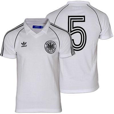 ADIDAS DFB Retro Fußball Shirt [Gr.XS-L] weiß Deutschland Trikot Euro12 WM 2014