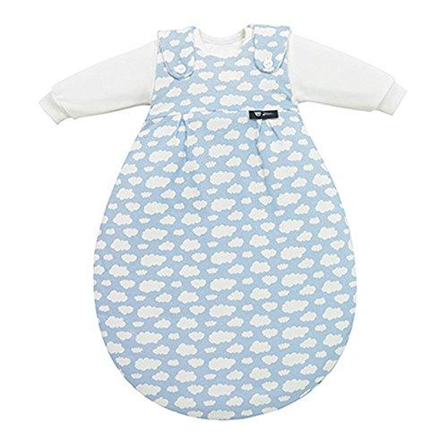 Alvi Schlafsack Baby-Mäxchen blau Größe 62 / 68