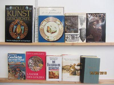 22 Bücher Bildbände Kunst Kultur Geschichte Weltgeschichte Paket 2