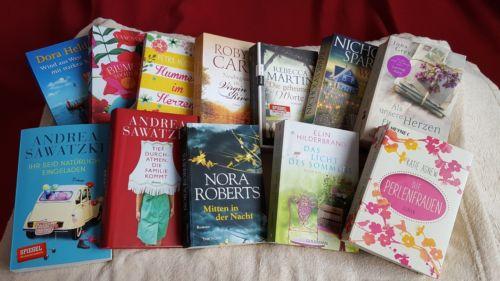 Buchpaket Romane, Romantik, Liebe, Heldt, Roberts ,Sparks