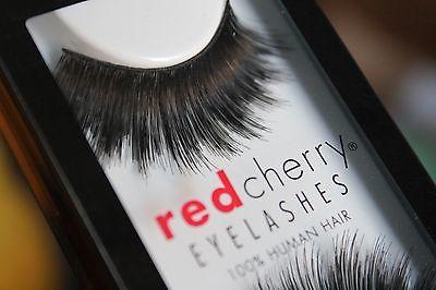 Red Cherry GIOVANNA #304 falsche unechte künstliche Echthaar-Wimpern strip lash