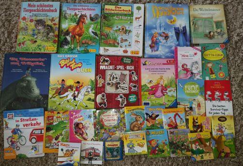 30 Kinderbücher Kinder Bücher Paket Sammlung Pixi / Pestalozzi / Ravensburger