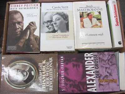 33 Bücher Biografie Biographie Memoiren Autobiografie Lebenserinnerung