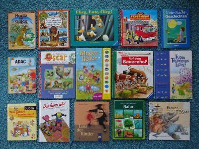 Bücherpaket 32 Kinderbücher Papp-Bilderbücher für kleine Kinder Duden Laura