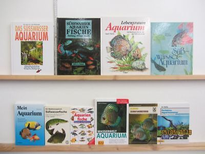 47 Bücher Aquarium Aquarien Zierfische Fischpflege Aquarienpflege