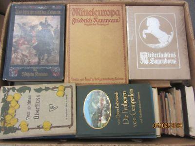 55 Bücher antiquarische Bücher