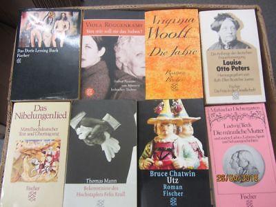 109 Bücher Taschenbücher Fischer Verlag