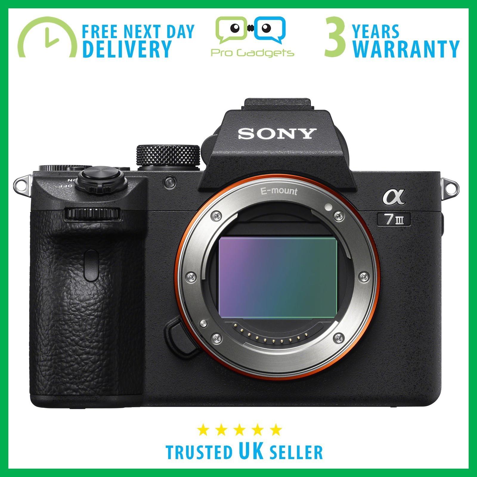 New Sony Alpha a7 III Mirrorless Digital Camera A7III ILCE7M3 - 3 Year Warranty