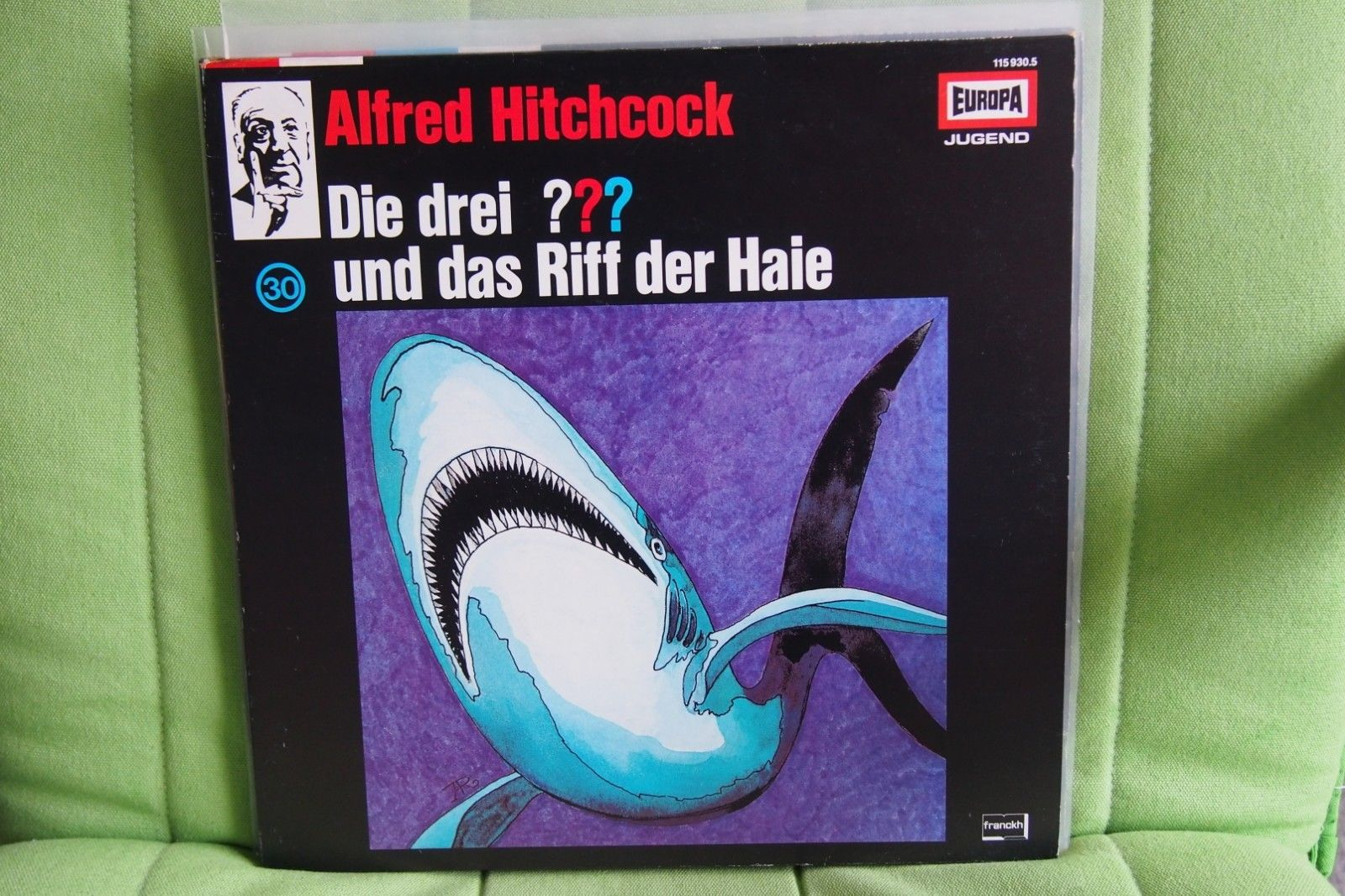 Die drei ??? Fragezeichen und das Riff der Haie - Folge 30 Vinyl LP Schallplatte