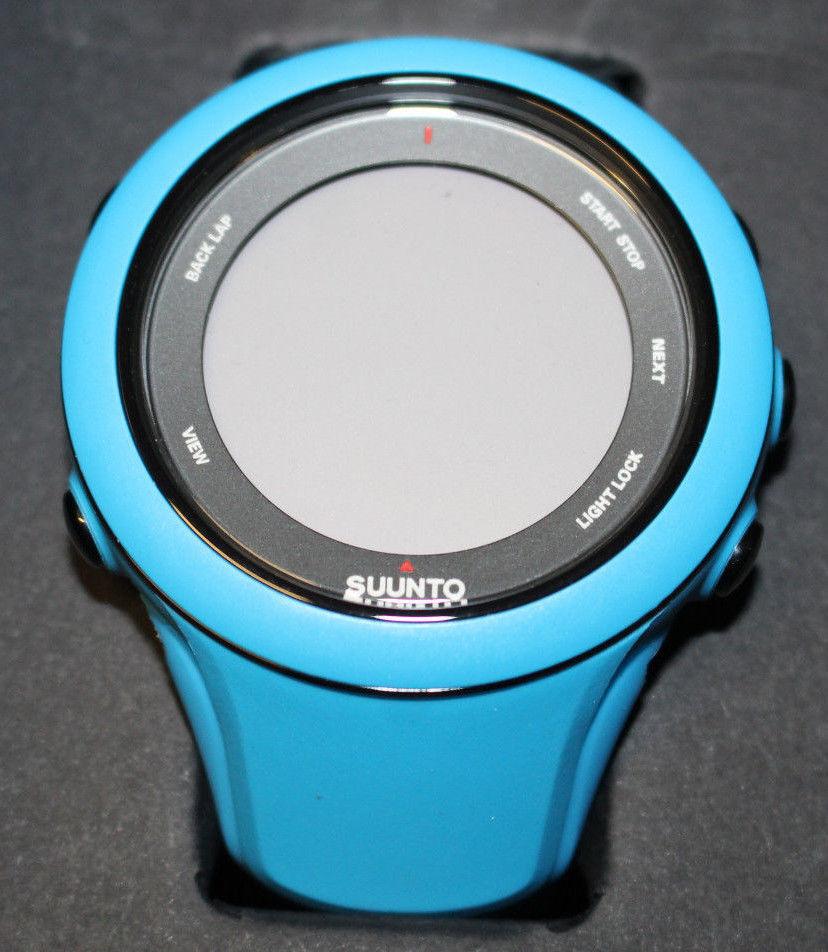 SUUNTO Multifunktionsuhr/GPS-Uhr Ambit 3 Sport Blue HR Mit Herzfrequenzgurt Neu