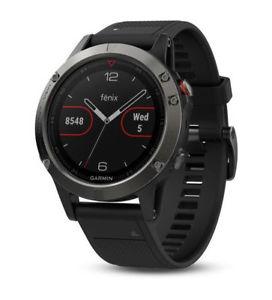 Garmin Fenix 5 Saphir Gps Multisport Smartwatch - 010-01688-11