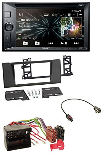 caraudio24 Sony XAV-W651BT DVD CD MP3 Bluetooth 2DIN USB Autoradio für BMW 5er (E39) X5 Quadlock