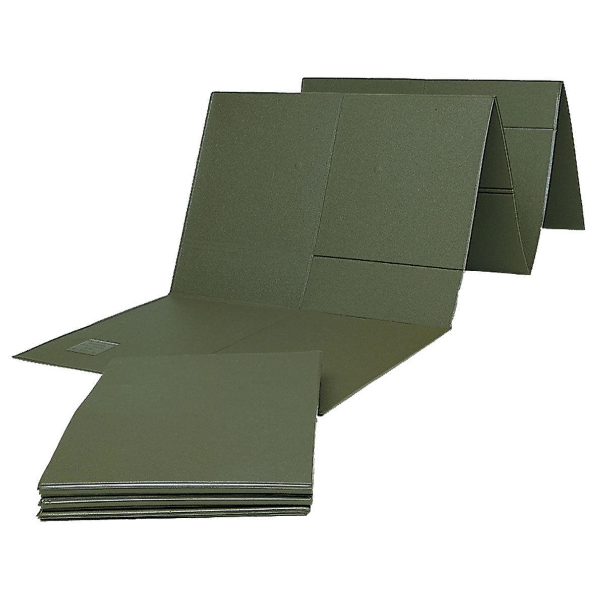 BW Bundeswehr Isomatte faltbar oliv, Thermomatte Schlafsackunterlage gebraucht