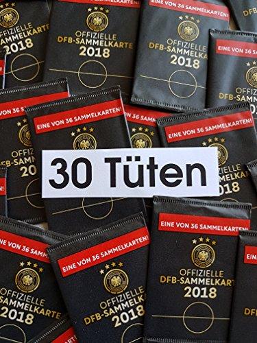 Rewe WM 2018 DFB - Russia Russland Sammelkarten - 30 Karten - Neu + OVP